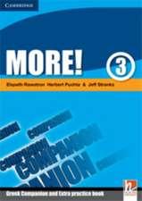 More! Level 3 Companion, Greek edition