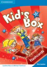 Kid's Box Pre-Junior Flashcards Greek Edition