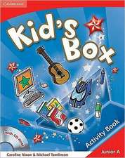 Kid's Box Junior A Activity Book with CD-ROM Greek edition
