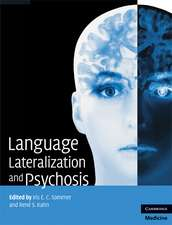 Language Lateralization and Psychosis