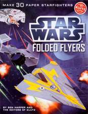 Klutz: Star Wars Folded Flyers