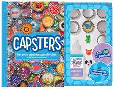Capsters:  Turn Bottle Caps Into Cool Collectibles