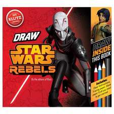 "Star Wars Rebels:  Be a ""Trooper!"" Draw Right Inside This Book"