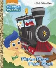 Triple-Track Train Race! (Bubble Guppies)