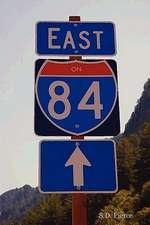 East on 84