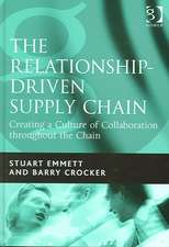 Emmett, S: The Relationship-driven Supply Chain