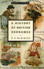 A History of British Surnames
