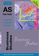AS Fast-Track (Business Studies A level)