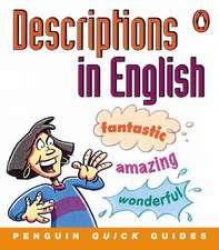 Penguin Quick Guides: Descriptions in English