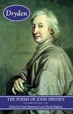 The Poems of John Dryden, Volume 5:  1697-1700