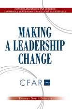 Making a Leadership Change
