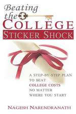 Beating the College Sticker Shock