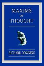 Maxims of Thought
