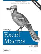 Writing Excel Macros with VBA 2e