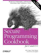 Secure Programming Cookbook for C & C++