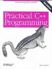 Practical C++ Programming 2e