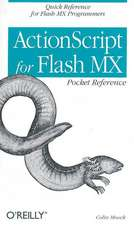 Actionscript for Flash MX Pocket Reference