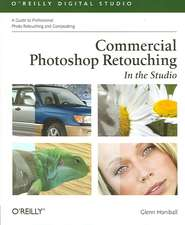 Commercial Photoshop Retouching – In the Studio