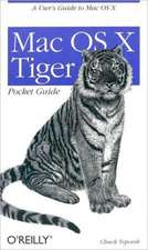 Mac OS X Tiger Pocket Guide:  75 Ways to Improve Your C# and VB.NET Programs