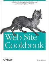 Web Site Cookbook
