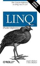 LINQ Pocket Reference