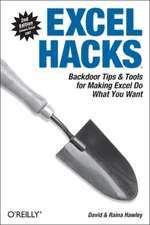 Excel Hacks 2e