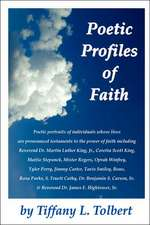 Poetic Profiles of Faith
