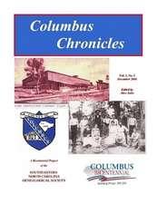 Columbus Chronicles:  Vol. 1, No. 1