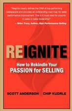 Reignite - How to Rekindle Your Passion for Selling