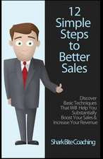 12 Simple Steps to Better Sales