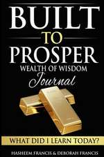 Built to Prosper Wealth of Wisdom Journal