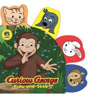 Curious George Hide-and-Seek (CGTV Tabbed Board Book)
