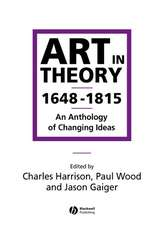 Art in Theory 1648–1815
