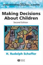 Making Decisions about Children: Psychological Questions and Answers
