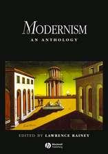 Modernism: An Anthology