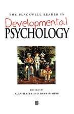 The Blackwell Reader in Developmental Psychology