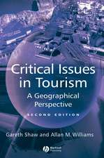 Critical Issues in Tourism