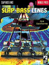 Slap Bass Lines [With CD with Play-Along Tracks]