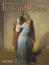 Anthology of Italian Opera: Baritone