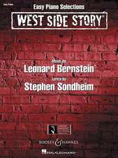West Side Story: Easy Piano Selections