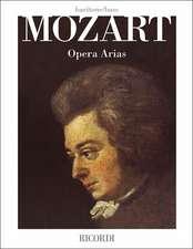 Mozart Opera Arias: Baritone/Bass
