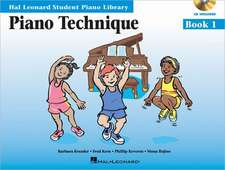 Piano Technique Book 1 - Book/Enhanced CD Pack:  Hal Leonard Student Piano Library