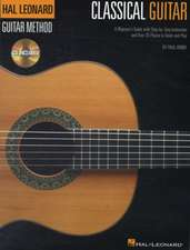 The Hal Leonard Classical Guitar Method (Book/Online Audio)
