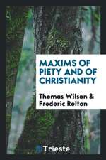 Maxims of Piety and of Christianity