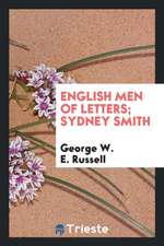 English Men of Letters; Sydney Smith
