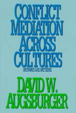 Conflict Mediation Across Cultures