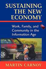 Sustaining the New Economy – Work, Family & Community in the Information Age