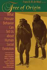 Tree of Origin – What Primate Behavior Can Tell us About Human Social Evolution