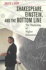 Shakespeare, Einstein and the Bottom Line – The Marketing of Higher Education