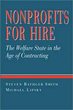 Nonprofits for Hire – The Welfare State in the Age in Contracting (Paper)
